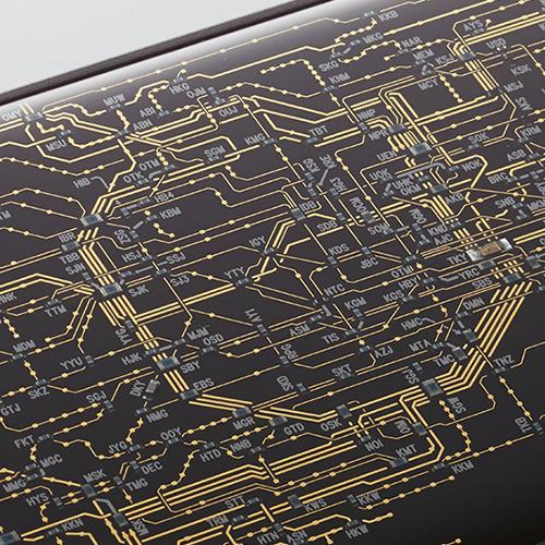 FLASH 東京回路線図 iPhoneケース/iPhone7 Black
