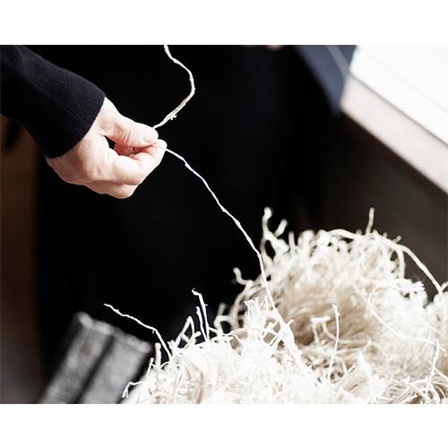 「kibiso」 きびそストール「しましま」(半巾)