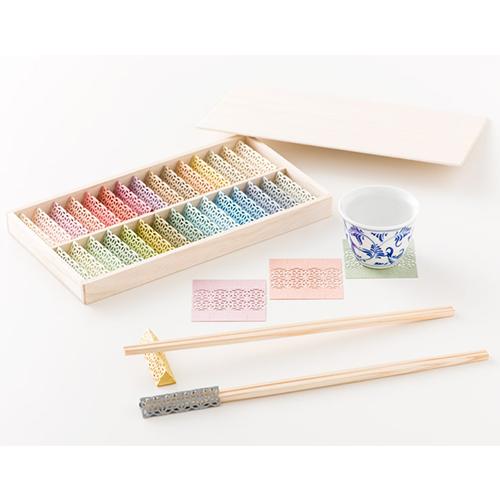 お箸飾り30個セット(木箱入り)