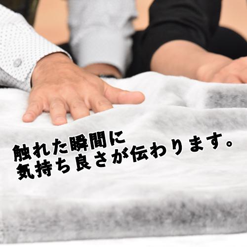 プレドラートル 掛け毛布 シングル/シルバー