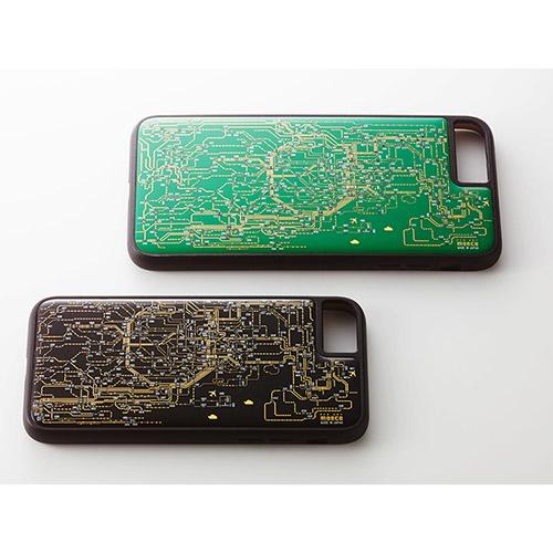 FLASH 東京回路線図 iPhoneケース/iPhone7 Green