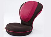 背筋がGUUUN美姿勢座椅子 ピンク