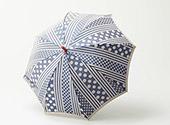 槇田商店の雨傘(ドットとストライプ)