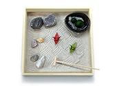 まりもの箱庭【枯山水・大】+まりものごはんセット