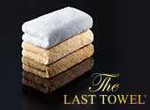 The LAST TOWEL フェイス 同色3枚組 ホワイト
