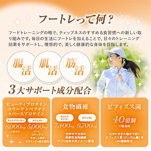 【定期コース】フートレプロテインカフェオレ味4袋セット