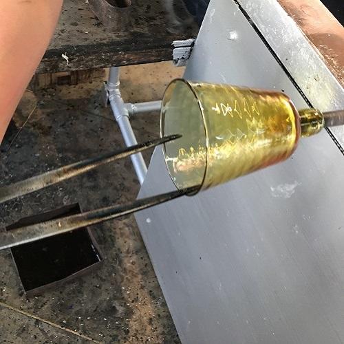 新島ガラス(魚子(ななこ)グラスセット)