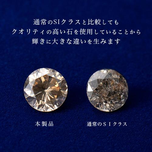 【なすなかデパート外商部】シャンパンブラウンダイヤモンドネックレス1.0ct
