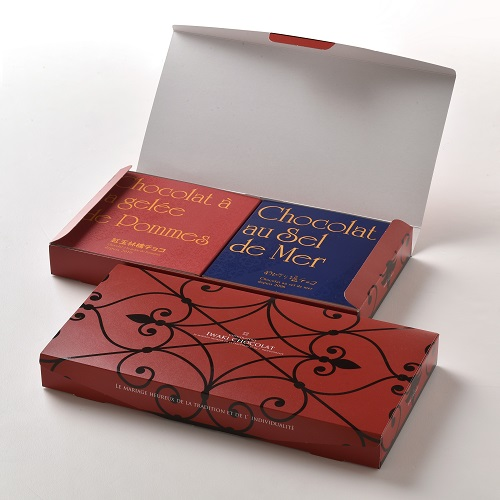めひかり塩チョコ&紅玉林檎チョコセット